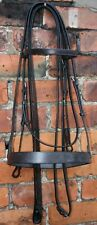 HERITAGE ENGLISH FULL SIZE DOUBLE WEYMOUTH BRIDLE for SABRE STUBBEN JAGUAR FSS