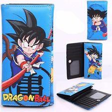 Anime Dragon Ball Wallet Son Goku Young Long Card Holder Coin Purse