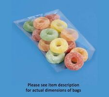 300 5x10 in. 2 Mil poly Uline S-950 plastic bags Fda compliant 5 x 10 in.