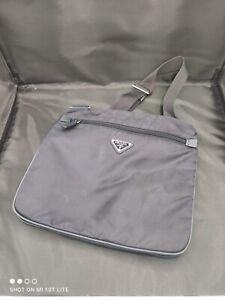 Prada Blue Messenger Bag