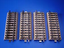 MARKLIN H0 - 5107 - 4x STRAIGHT RAIL 1/2 - M Track / EXC