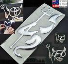 Silver color 3D Funny Devil Demon Car Sticker Decal Emblem Badge Logo Evil