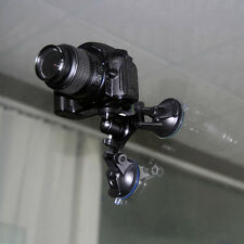 3 Car Suction Cup Mount Holder +Tripod Adapter For Gopro HD Hero2 3 3+ 4 Cameras