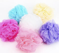 2PCS Bath/Shower Body Exfoliate Puff Sponge Mesh Net Ball Small Size 10cm