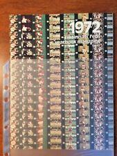 1972 Cincinnati Reds Yearbook
