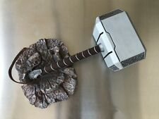 Avengers Thor Mjolnir Metal Hammer With Molded Grip & Strap