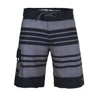 Men's Beach Swimwear Swim Trunk Surf Shorts Board Shorts Black