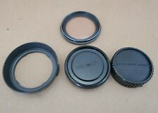 Lens Hood & Caps for Minolta MD 28 f2/f2.8/f3.5 Lens, Marumi 52-58 SL 1A Filter