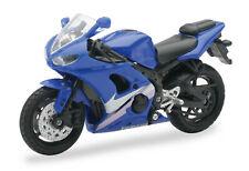 Yamaha YZF-R6 blau Maßstab 1:18 Motorrad Modell von NewRay
