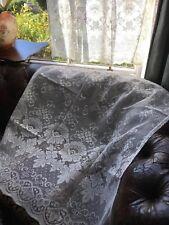 Laura Ashley Estilo Victoriano Encaje de Algodón Panel Cortina 91.4cmby 91.4cm