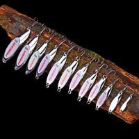Fishing Baits Spoon Lure 3-40g Bass Fishing 8#-2# Hook Metal Lure Fishing Tackle