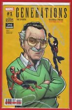 Generations #1: Spiders Miles Morales *Stan Lee Comic Box Exclusive 2017 Variant