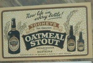 Original Vintage Tooheys Flag Ale & Oatmeal stout ink blotters blotter