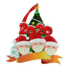 New Christmas Tree Hanging Snowman Pendant Ornaments Family Xmas Party Ornament