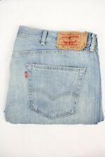 Mens Vintage LEVIS 501 Denim Jeans W42 L32 Regular Straight Leg Blue
