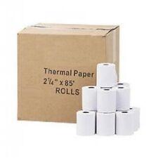 "Thermal Paper Rolls, 2-1/4"" x 85' - Per Roll - 10+ Rolls or 50+ Rolls - White"
