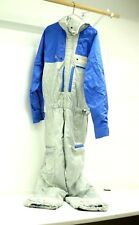 Ditrani Designs Canada Silver and Blue Ski One Piece Jumpsuit Apparel Size 44