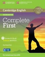 Complete. Complete First Student's Book without Answers with CD-ROM by Brook-Har