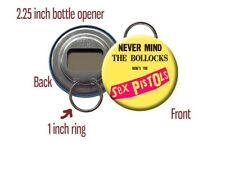 "Sex Pistols Anarchy in the UK British Punk Band 2.25"" Bottle Opener / Keychain"