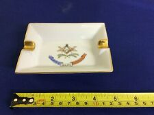 A Original Rare French Masonic Ash Tray by Limoges France, In Perfect Condition.