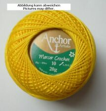 Hilo de ganchillo Anchor Mercer Crochet 20g pcs. 10 AMARILLO fb.290