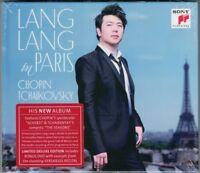 LANG LANG IN PARIS CHOPIN 4 Scherzo TCHAIKOVSKY The Seasons Deluxe Ed 2CD+DVD