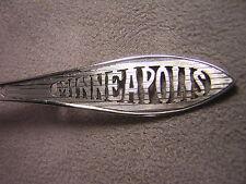 Paye & Baker Sterling Silver Souvenir Spoon ~ Minneapolis ~ Cut Out Design