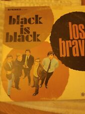 Los Bravos - Black Is Back LP - 1966 Original Press Records