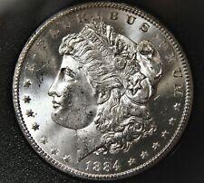 BU 1884-CC GSA Morgan silver dollar from collection, very nice