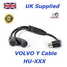 Y Adapter Yatour Volvo HU Radio and RTI Navigation