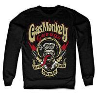 Gas Monkey Garage Spark Plugs Zündkerzen Blood Sweat Beers Männer Men Sweatshirt