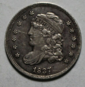 1837 Capped Bust Half Dime WZ26