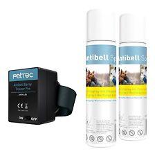 PetTec Collar Antiladrido Automático para Adiestramiento, incl. 2x Contenedores