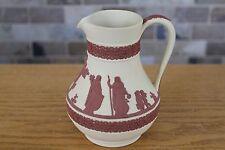 "Wedgwood Yellow Cane Jasper Ware Terracotta Relief 6"" Etruscan Jug"
