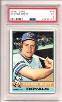 1976 Topps #19 George Brett PSA 5
