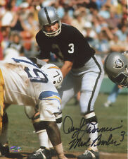 Daryle Lamonica Autographed 8x10 Raiders w/ Mad Bomber Inscription (Vertical)