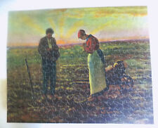 Vintage Perfect Picture Puzzle The Angelus Over 375 Pieces 19 x 15
