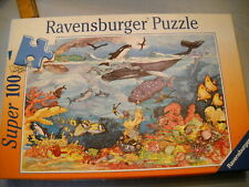 Ravesburger 100 pc Kids Jigsaw Puzzle ~Coral Reef ~Large Pieces ~Complete