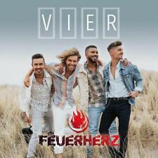 FEUERHERZ  Vier  ( Neues Schlager Album 2019 )  CD   NEU & OVP  02.08.2019