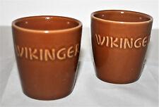 Met Honigwein Original Becher 2x Tonbecher Wikinger Mittelalter 200ml NEU OVP