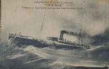 CPA WW1 - Campagne d'Orient 1914-1918 - ODESSA - Transport Auxil - 1918 - Animé