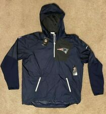NIKE NE PATRIOTS ON FIELD APPAREL Wind Breaker Jacket - Men's XL - NEW  (5827)