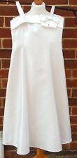 DESIGNERS By Debenhams eg Ivory Prom Strappy Summer Knee Dress Ivory 11 Years
