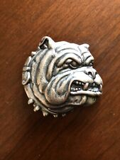 Bulldog Dogs Head Spike Collar House Pets Animals Belt Buckle Boucle Ceinture