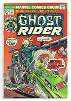 Ghost Rider vol. 1 # 4 Marvel Comics 1973 Death Stalks Demolition Derby