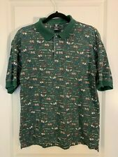 Men's Vintage 1997 Warner Brothers Studio Store Taz with Tools Polo Shirt