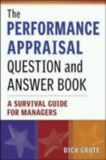 The Performance Appraisal Question and Answer Book: A Survival Guide for Manager