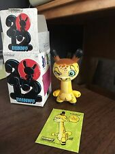 KIDROBOT DUNNY SERIES 12 SCRIBE 3/40 COMPLETE WITH BOX