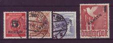 Gestempelte Briefmarken aus Berlin (1948-1949) als Satz