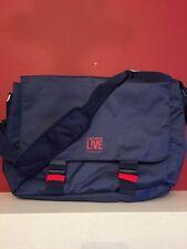 LACOSTE PARFUMS BLUE MESSENGER SHOULDER LAPTOP Cross body BAG Brand New!!